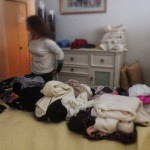 Wendy Packing — preparing for just about any diversions and adventures I might throw her way