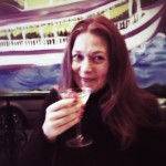 Sipper her first Cajun Martini