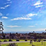 Beautiful View from the Santa Barbara Mission