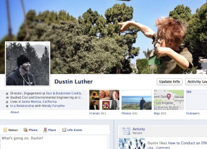 dluther facebook screenshot