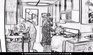video sketch screenshot