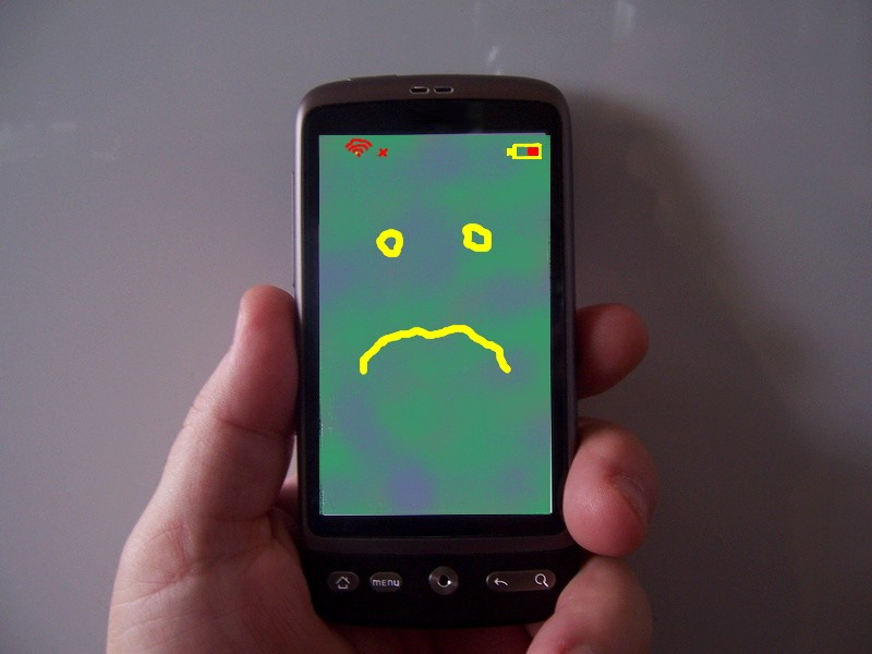 sad mobile