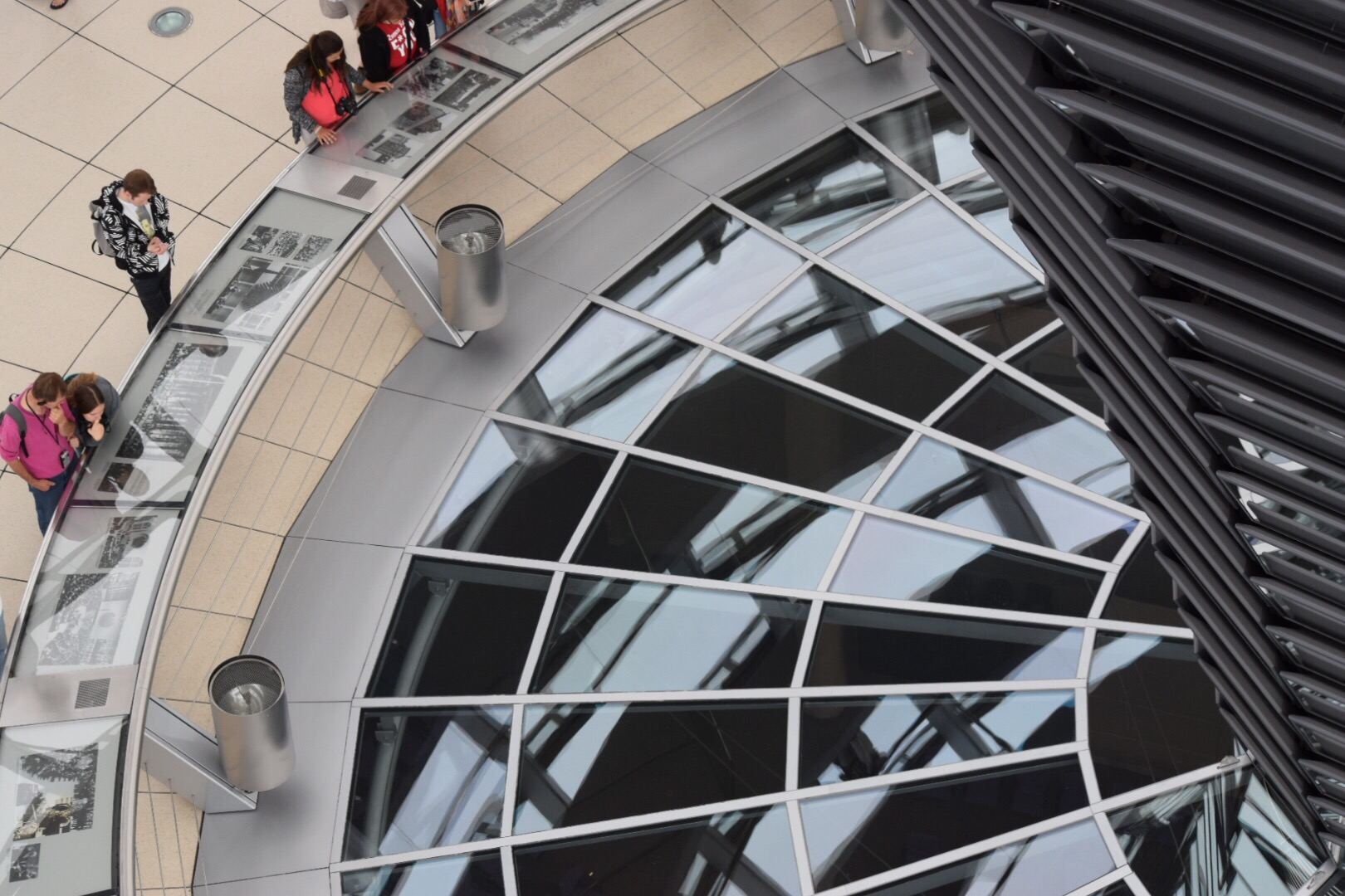 Climbing the Reichstag Dome