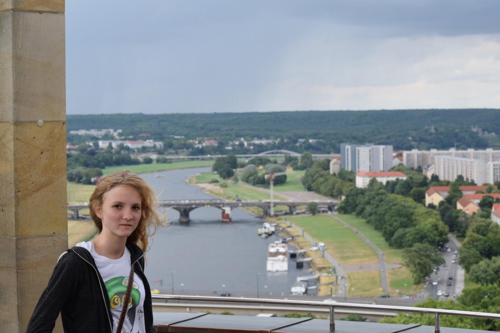 Alex in Dresden