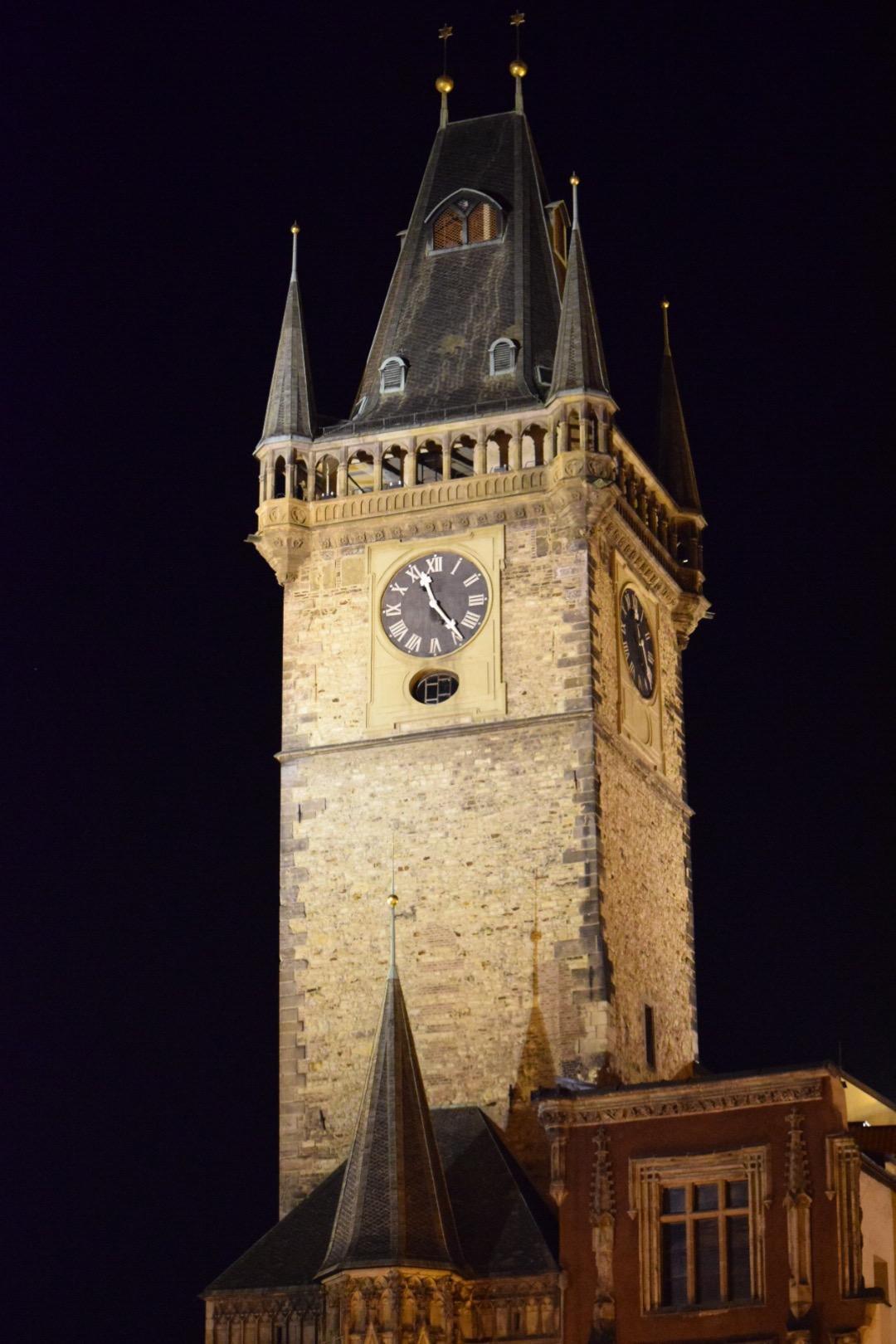 Prague Clocktower