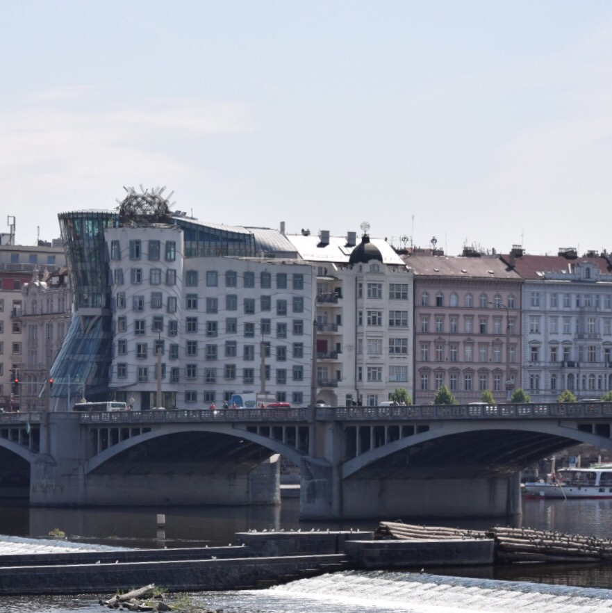Gehry's Dancing House