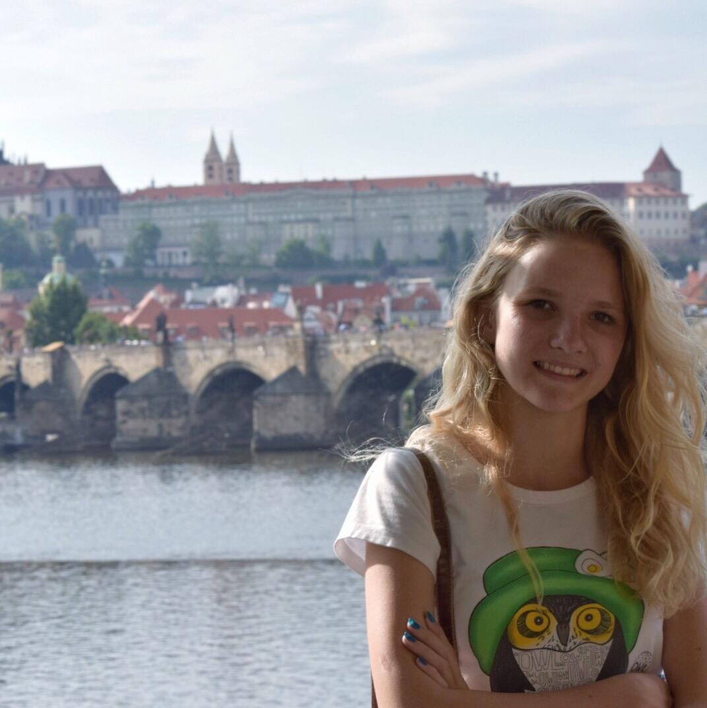 Alex in Prague