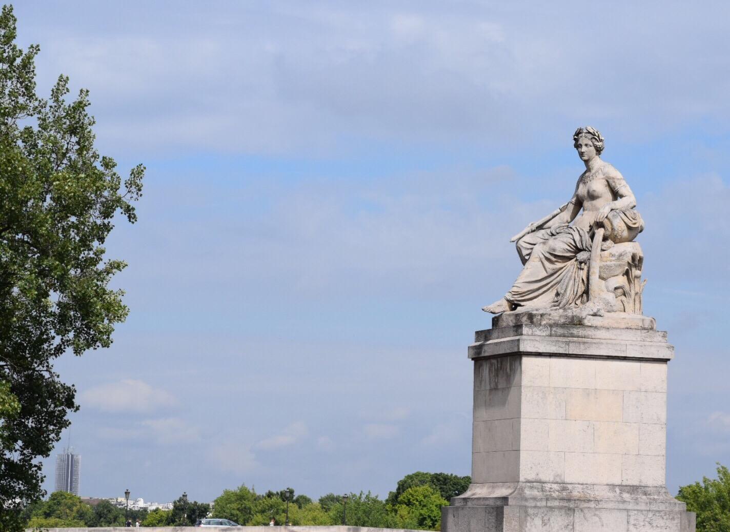 Parisian Statue