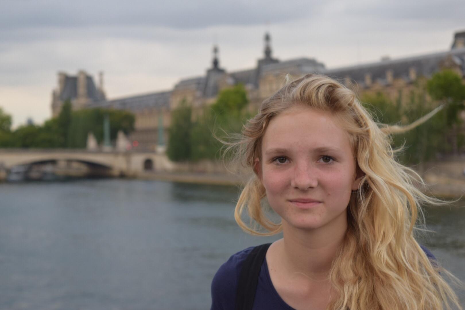 Evening Walk along the Seine