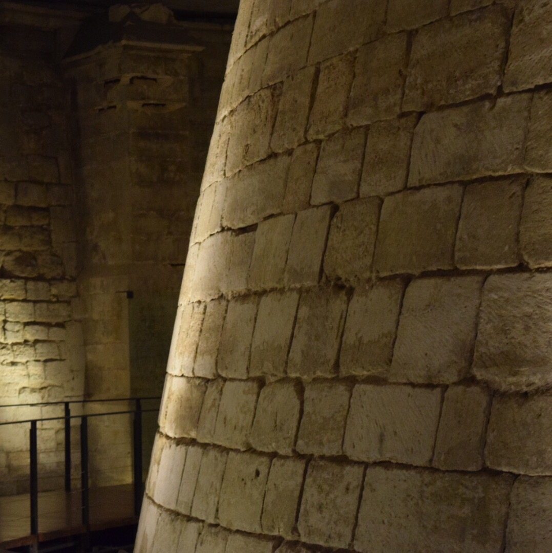 Medieval Louvre Walls