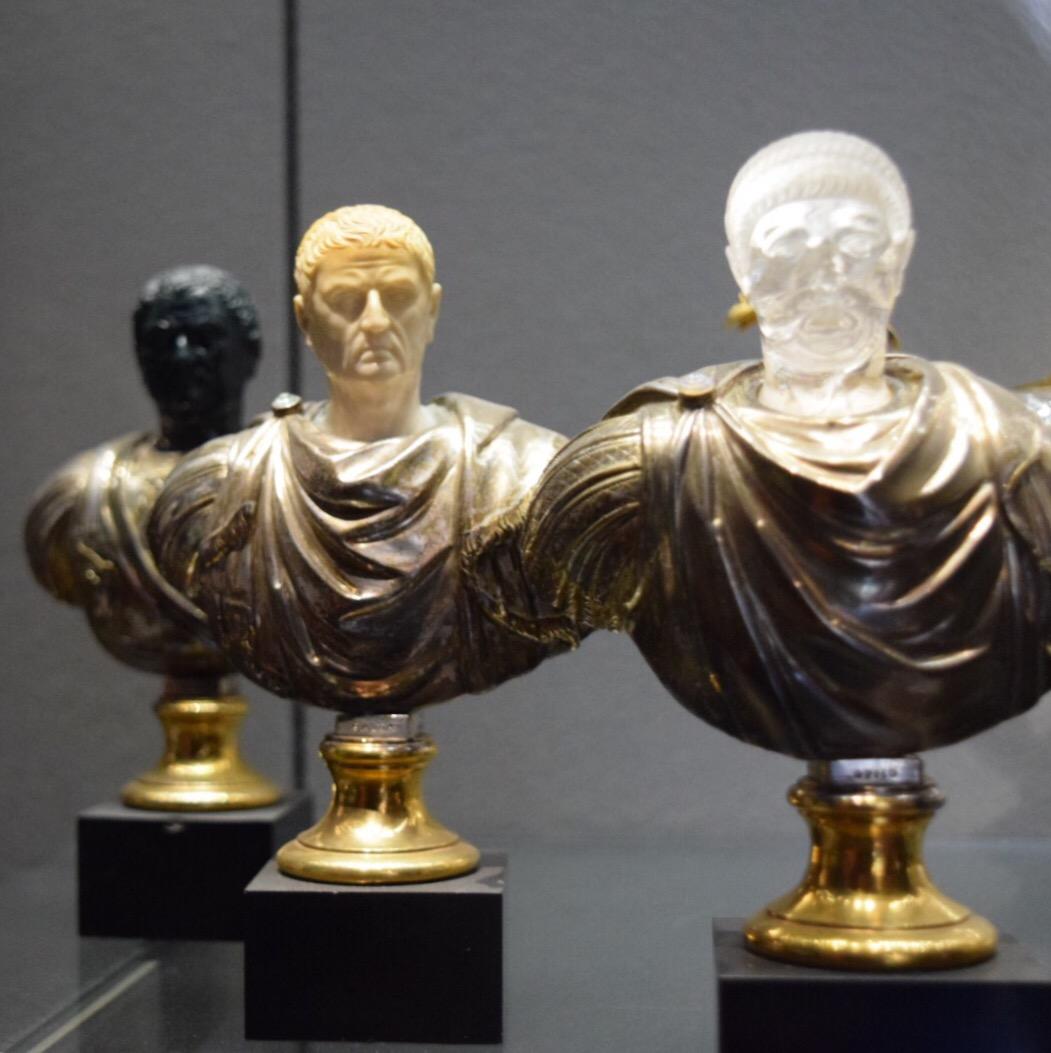 Caesar busts