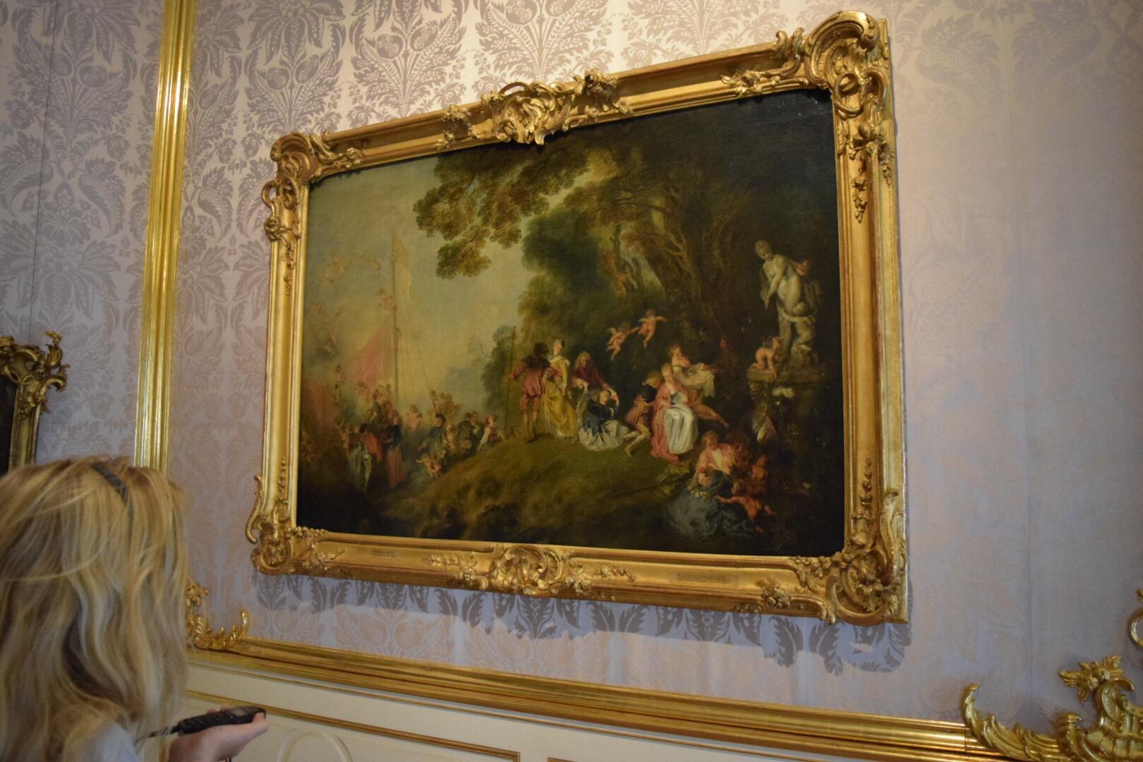 Art at Charlottenburg Castle
